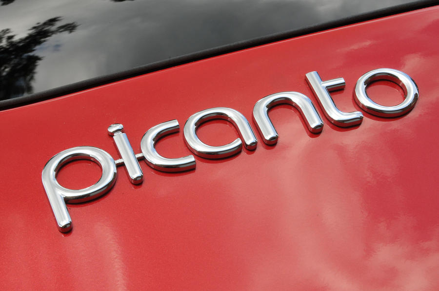 Kia Picanto badging