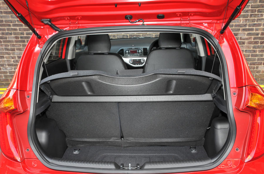 Kia Picanto boot space