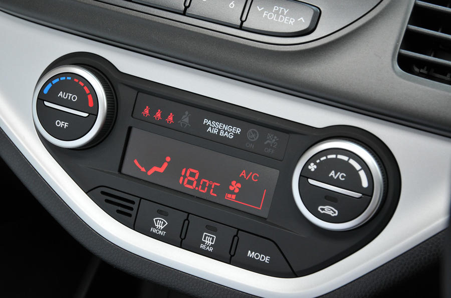 Kia Picanto climate control