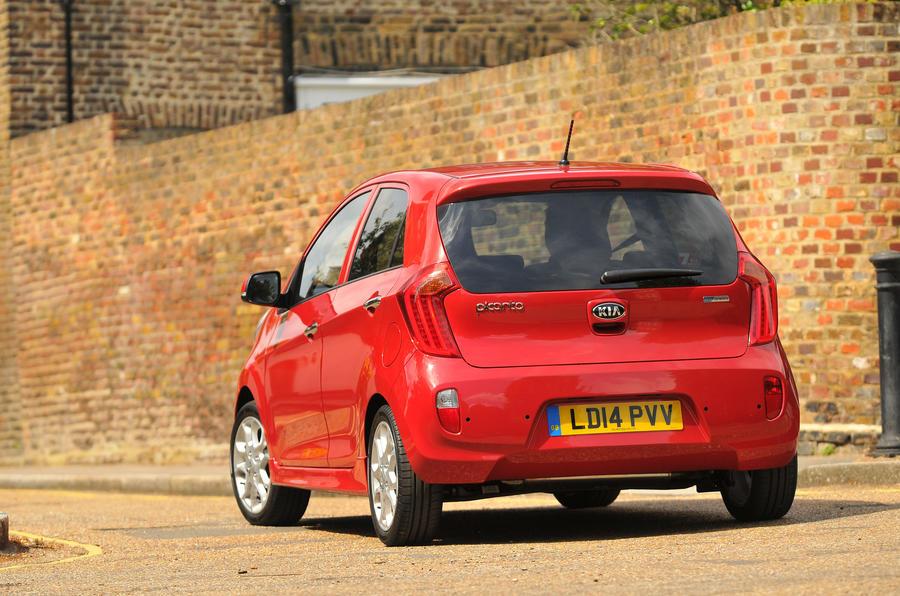 Kia Picanto rear