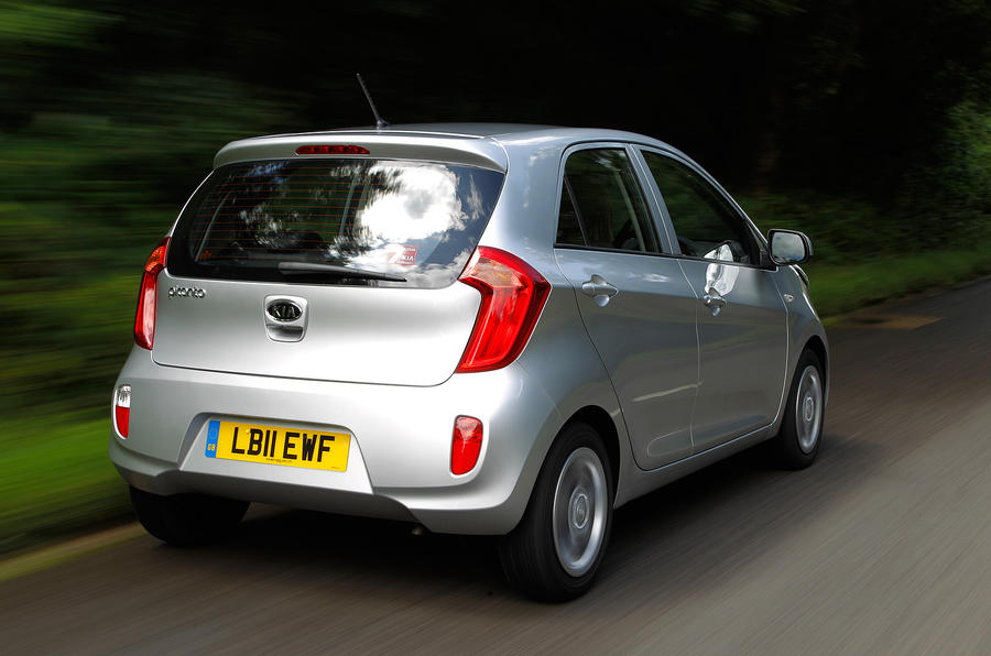 Kia Picanto rear quarter