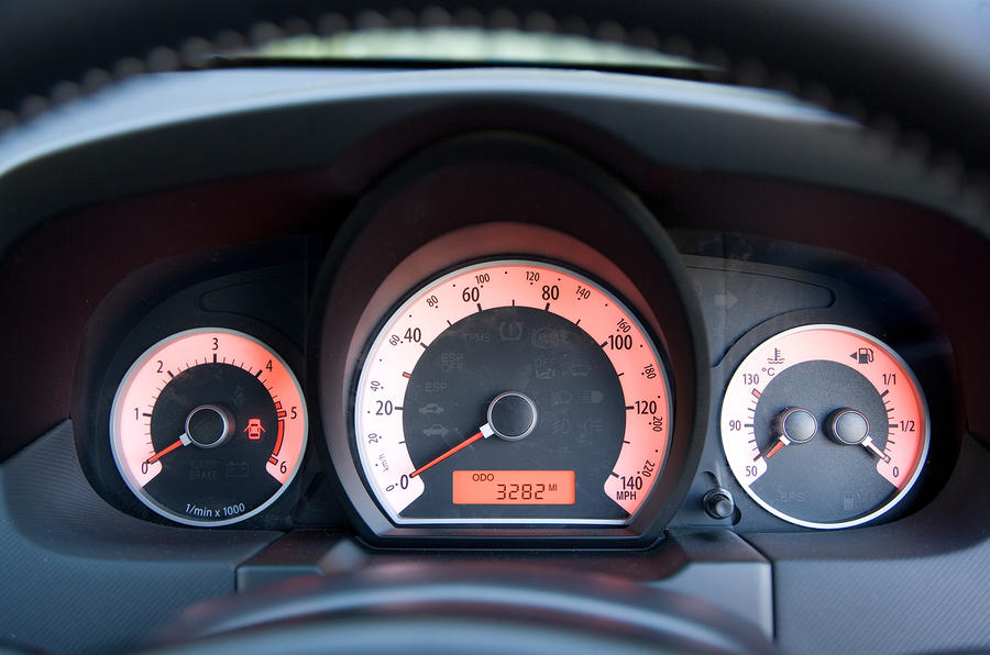 Kia Procee'd instrument cluster