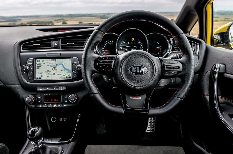 Kia Procee'd GT dashboard