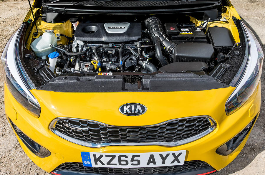Kia Procee'd GT 1.6-litre turbo engine