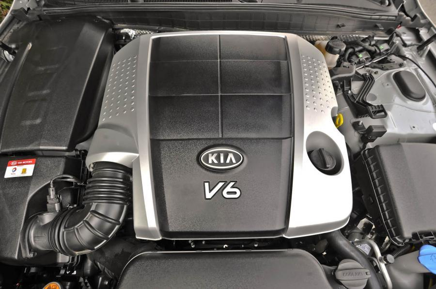 Kia Quoris 3.8-litre V6 engine