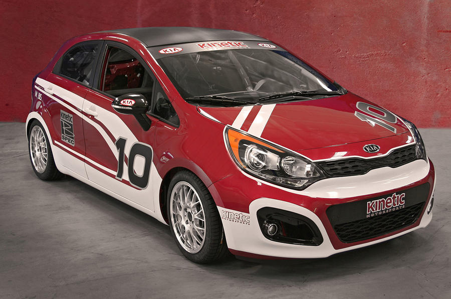 Kia Rio racer revealed