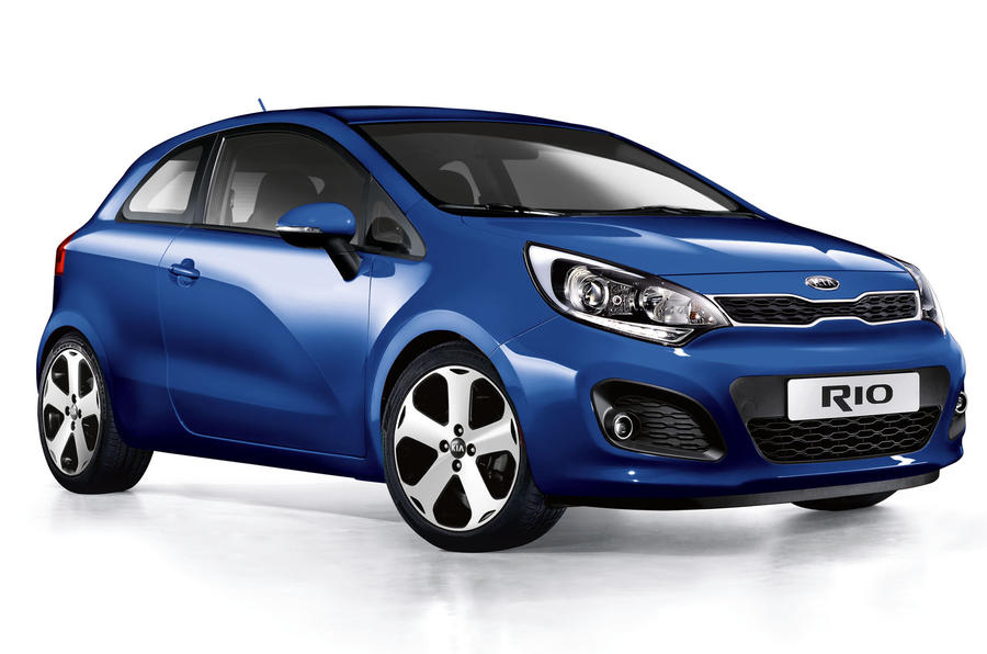 Kia Rio 3dr priced from £9995