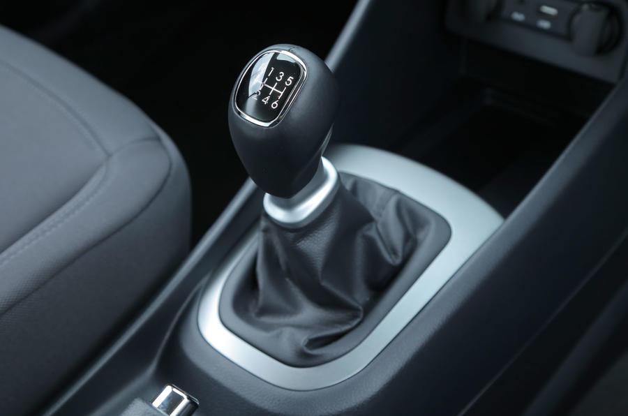 Kia Rio manual gearbox
