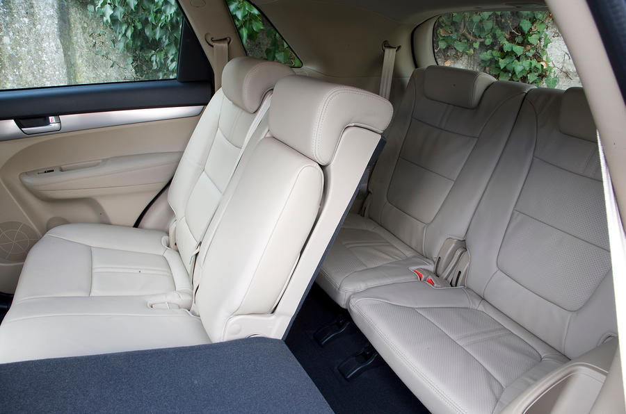 Kia Sorento third row seats