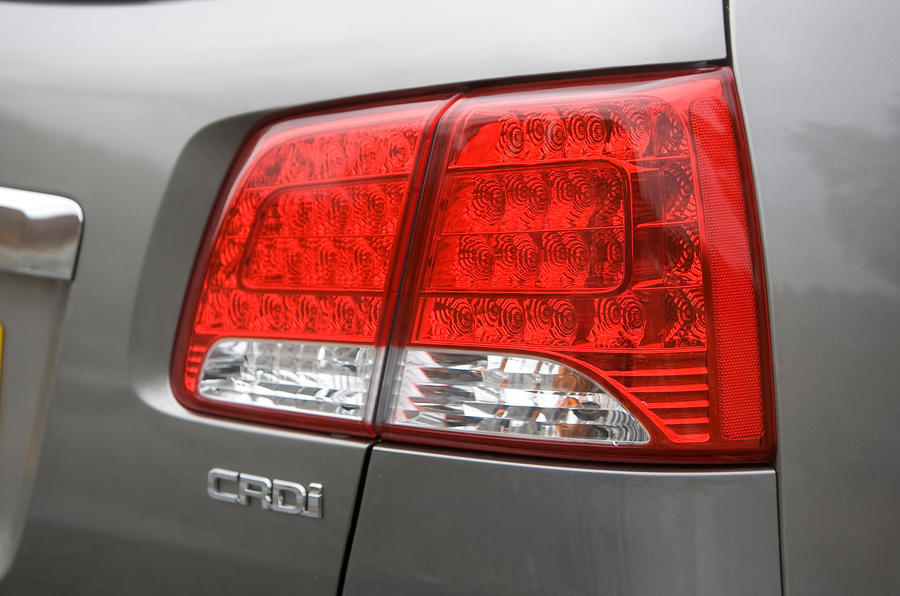 Kia Sorento rear light