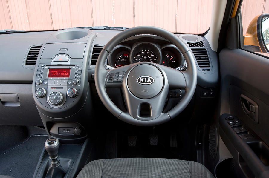 Kia Soul dashboard