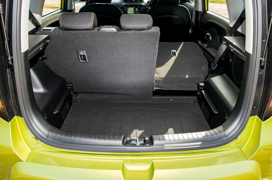 Kia Soul seating flexibility