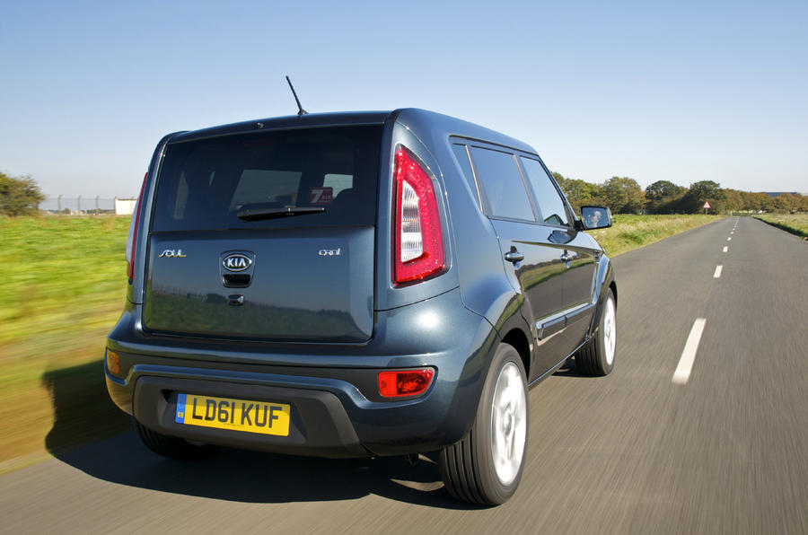 Revised Kia Soul from £12,495
