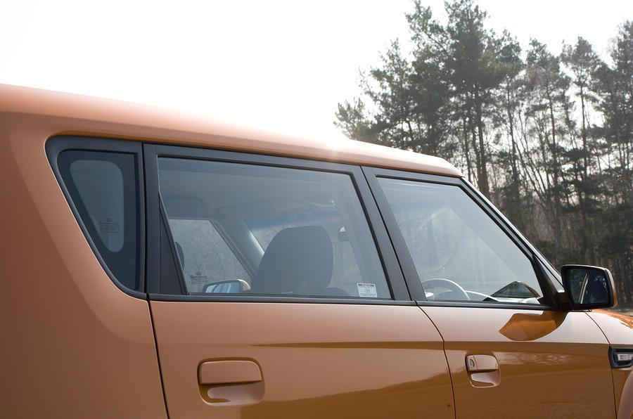 Kia Soul rear doors