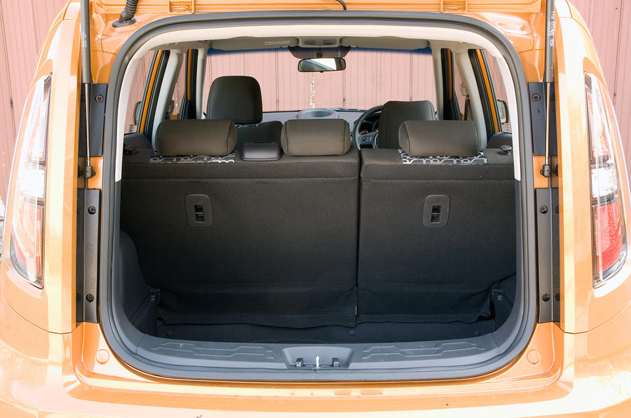 Kia Soul boot space