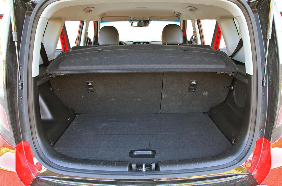 Kia Soul boot space