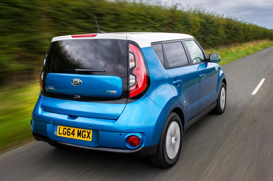 Kia Soul EV rear
