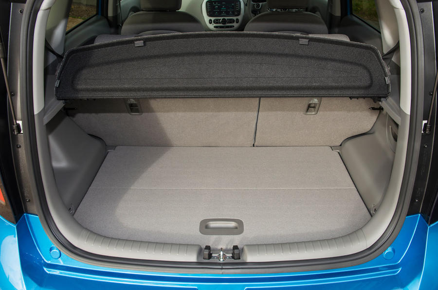 Kia Soul EV boot space