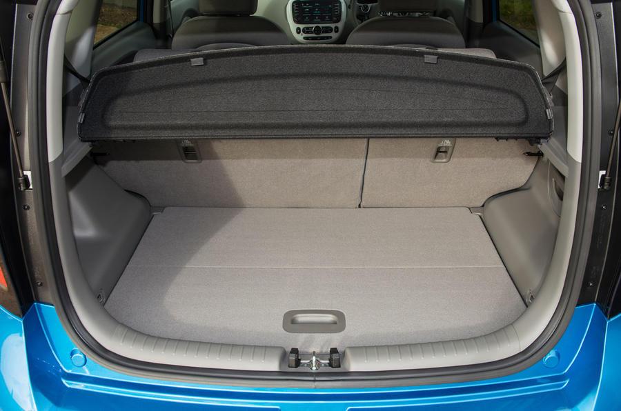 Kia Soul EV boot space