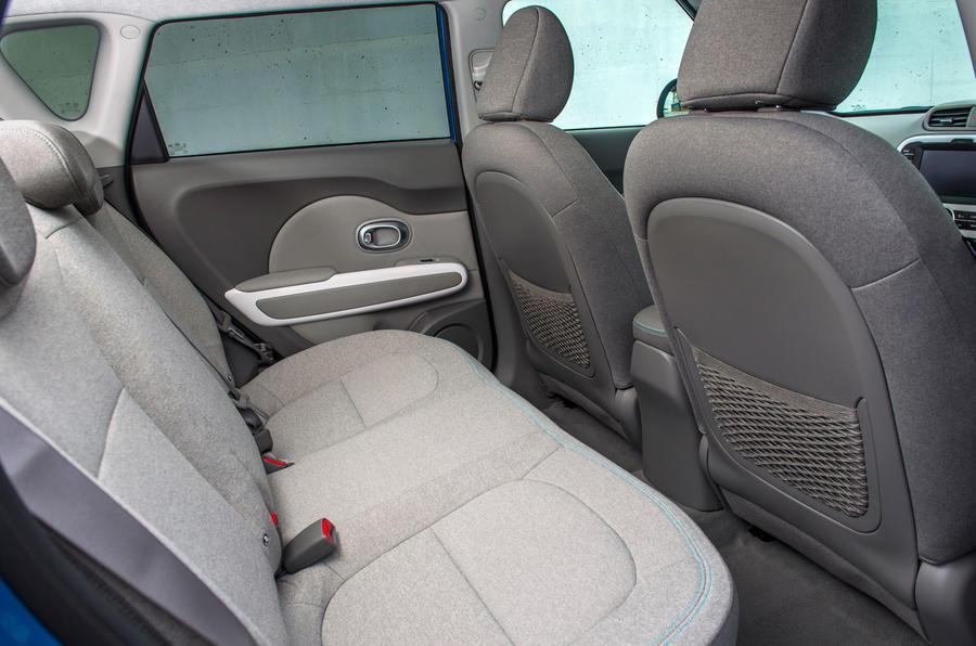 Kia Soul EV rear seats