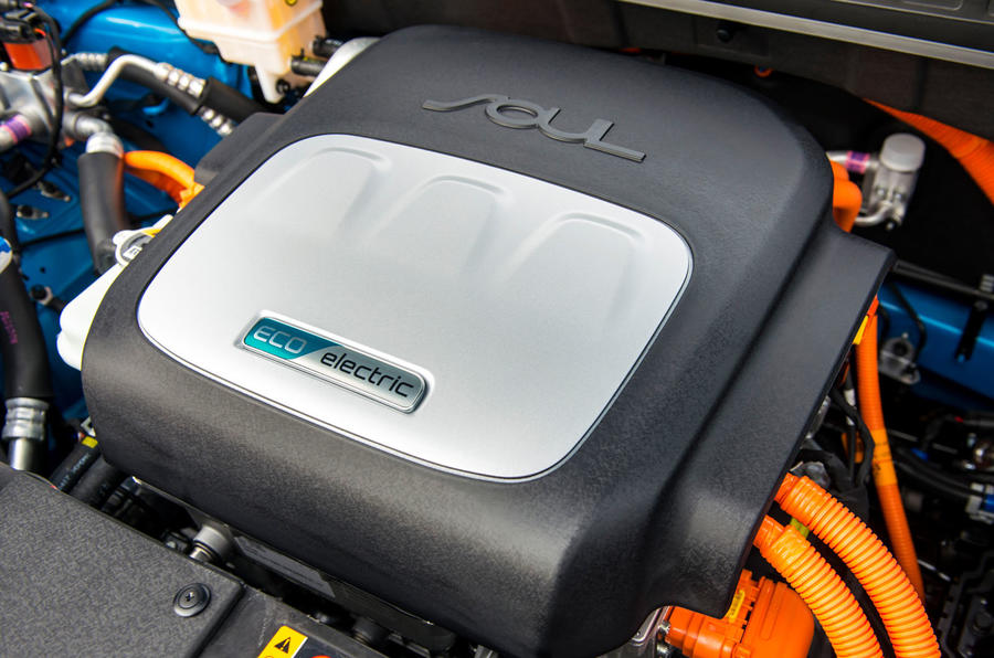 Kia Soul EV engine block