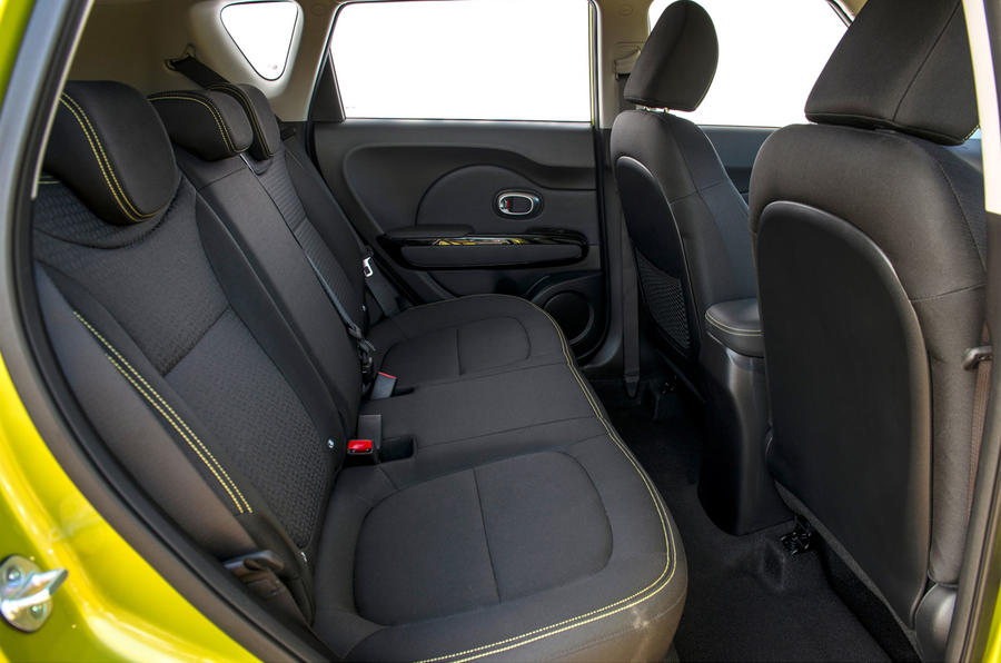 Kia Soul rear seats