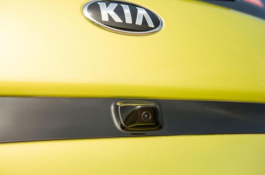 Kia Soul reversing camera