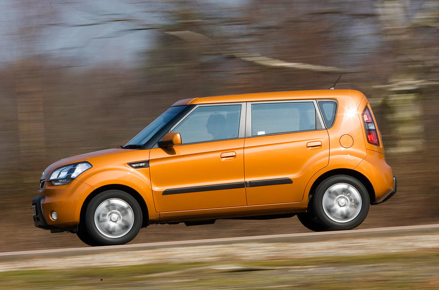 Kia Soul side profile
