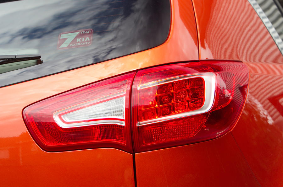 Kia Sportage rear light