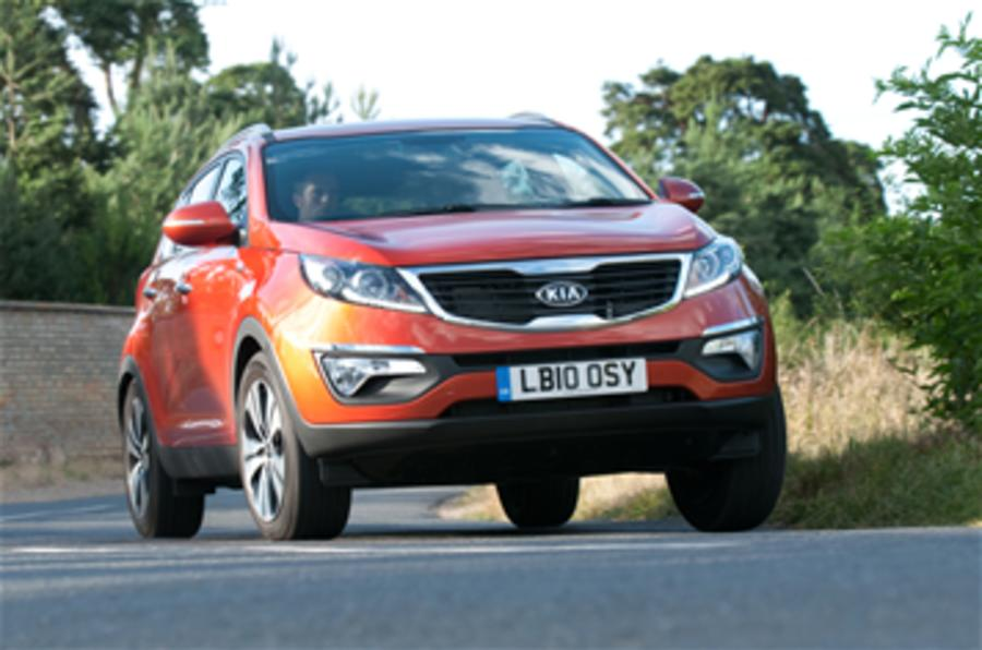 Kia Sportage from £16,645