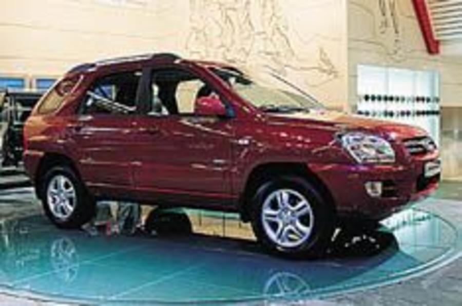 Kia plans European advance