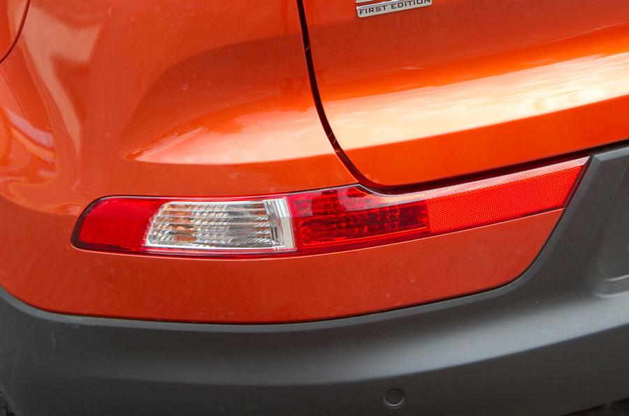 Kia Sportage rear reflectors