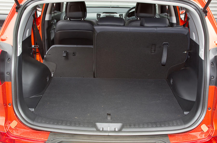 Kia Sportage boot space