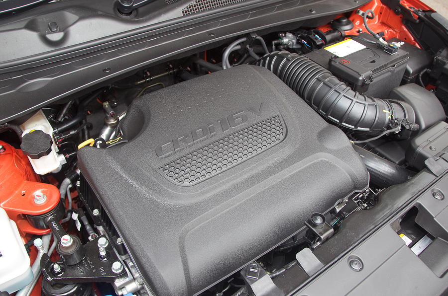 Kia Sportage diesel engine
