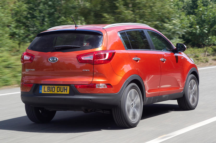 Kia Sportage rear quarter