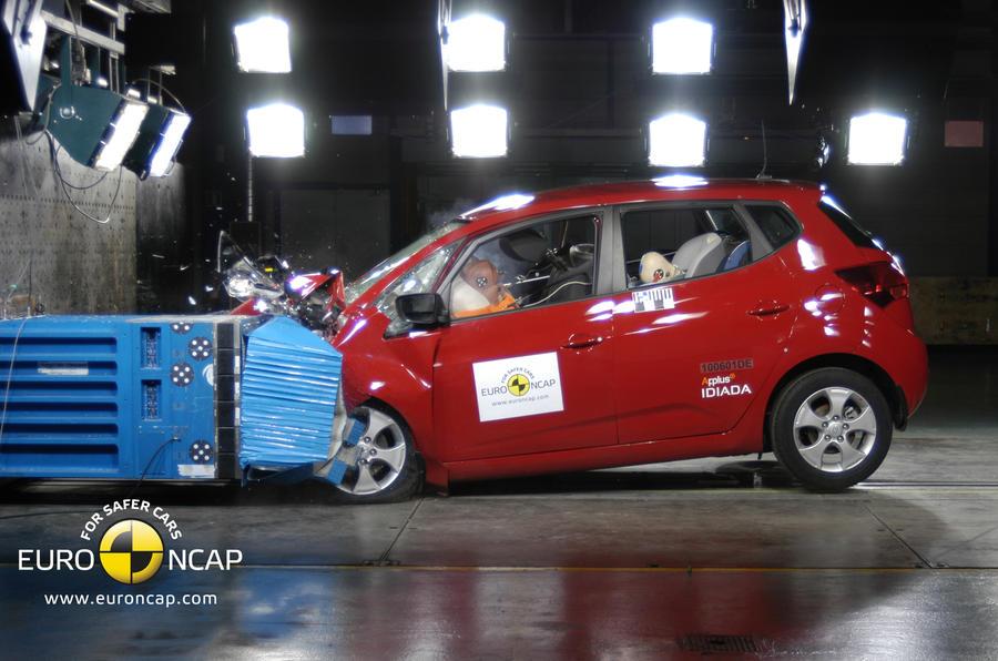 Euro NCAP's Kia Venga caution