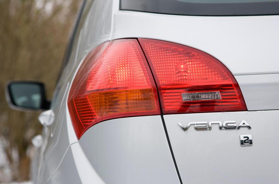 Kia Venga rear light
