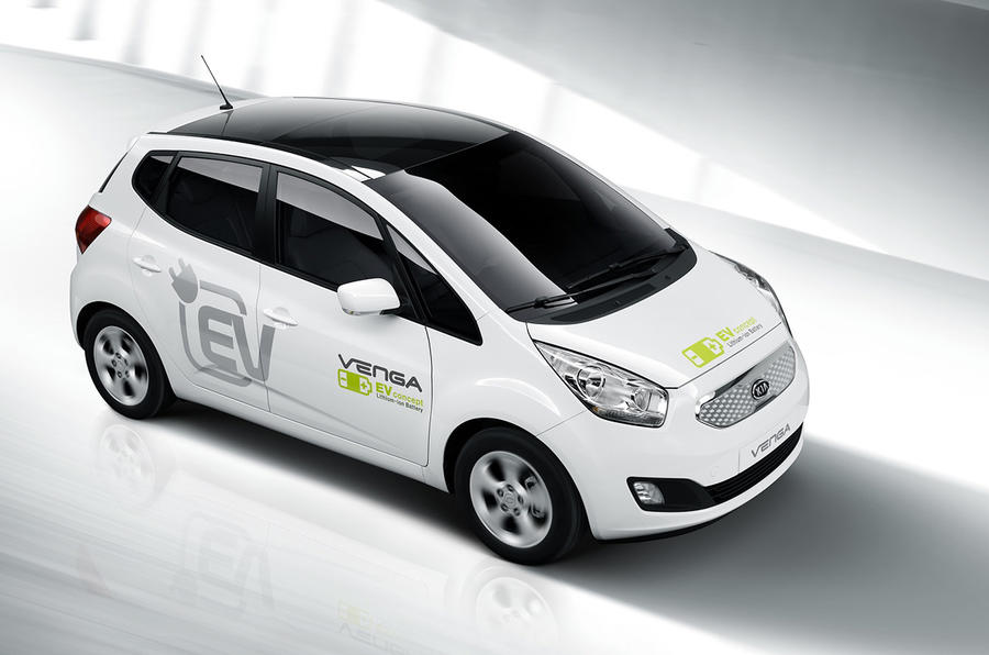 Electric Kia Venga launched