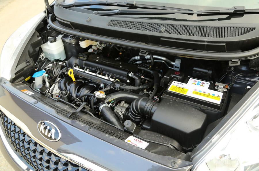 Kia Venga engine bay