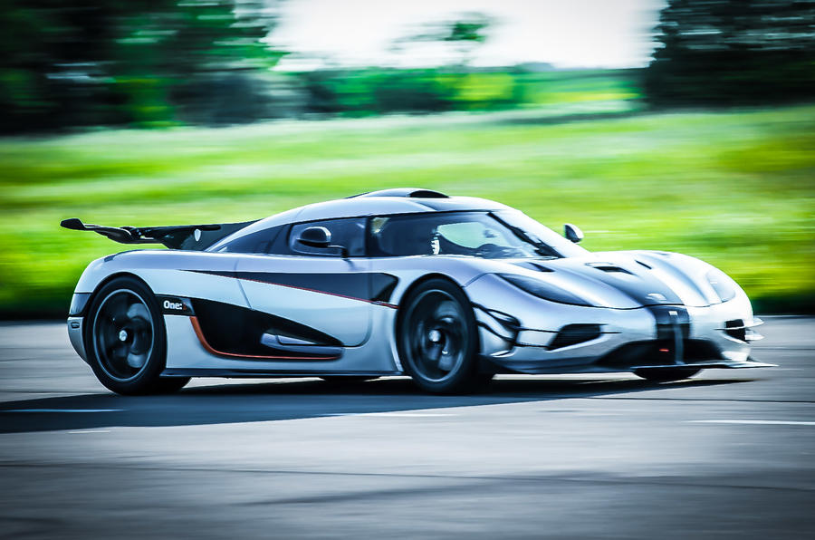 The 273mph Koenigsegg One:1