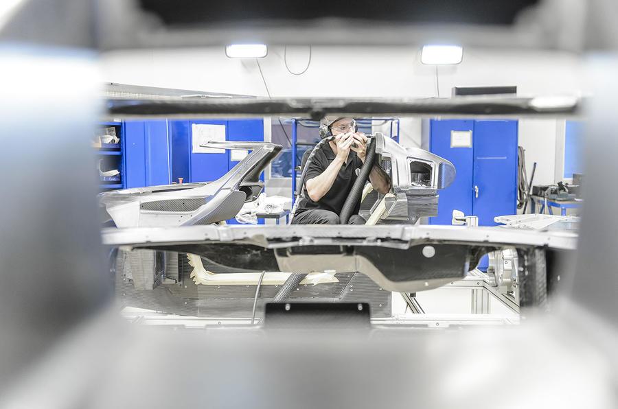Manufacturing the Koenigsegg One:1
