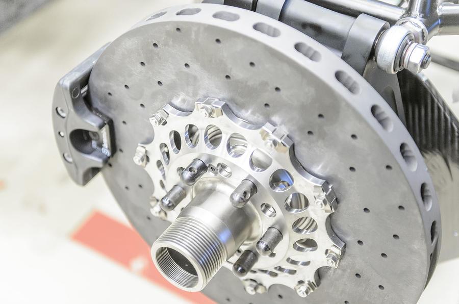 Koenigsegg One:1 ventilated brake discs