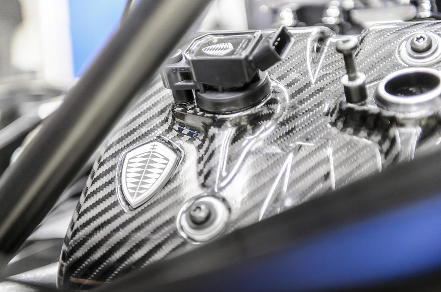 Koenigsegg One:1 badging