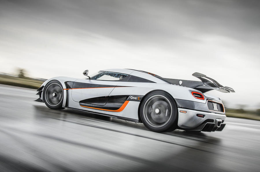 Koenigsegg One:1 rear quarter