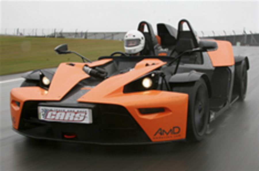 KTM X-Bow gets power boost