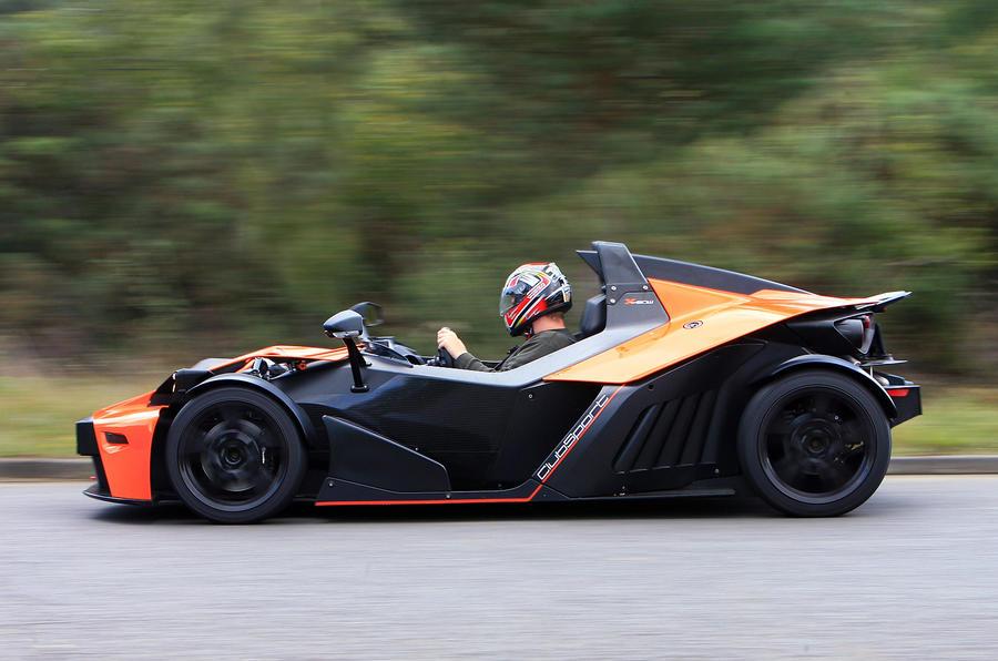 the 144mph KTM X-Bow
