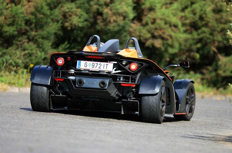 KTM X-Bow rear cornering