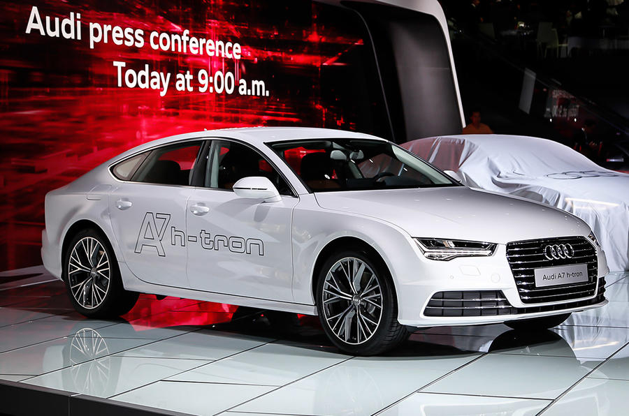 Hydrogen-powered Audi A7 h-tron concept could make production