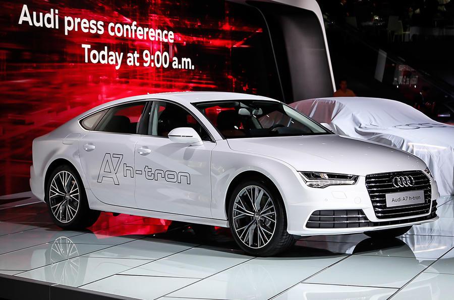 Hydrogen Powered Audi A7 H Tron Concept Could Make Production Autocar