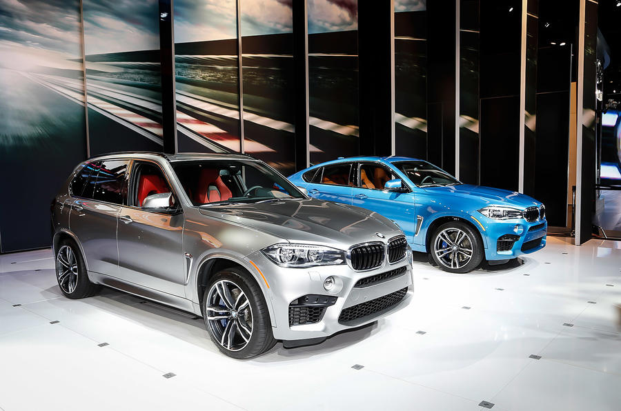 Bmw reveals new x5 m and x6 m at los angeles motor show for M and m motors